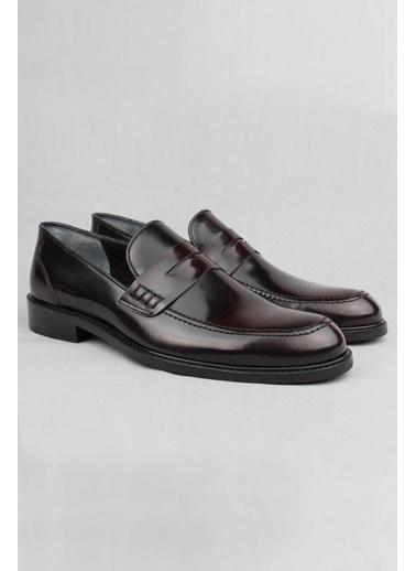 CZ London Hakiki Deri Ayakkabı Bordo